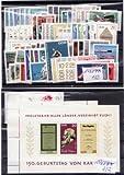 Briefmarken DDR kompletter Jahrgang 1968, Postfrisch **