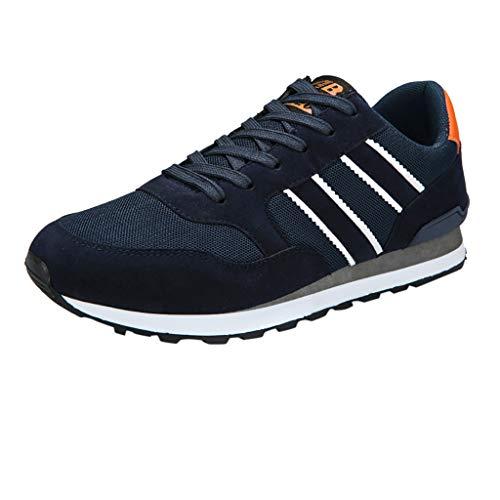 Xmiral Scarpe da Running Uomo Scape per Sport Outdoor Uomo Scarpe da Ginnastica da Uomo Running Sportive EU:41 Blu