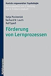Förderung von Lernprozessen (Module angewandter Psychologie)