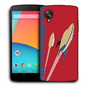 Snoogg future jets 2510 Designer Protective Back Case Cover For LG Nexus 5