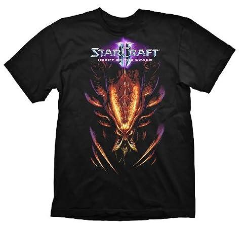 Starcraft 2 T-Shirt Heart Of The Swarm Hydralisk, Größe