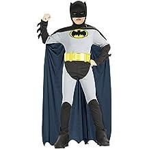 Rubbies - Disfraz de Batman para niño, talla S (3 - 5 años) (RU18722SM)