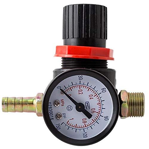 Lopbinte Manometer Druck Minderer Regler Manometer Wasser Kompressor Hydraulische Tester Meter Auto Armatur -