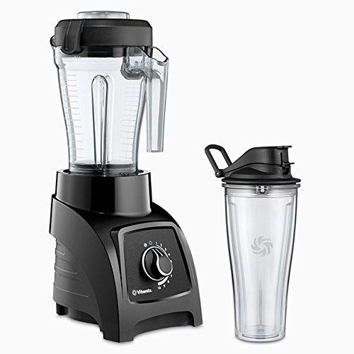 Vitamix S30 Batidora de vaso 1.2L 950W Negro, Transparente - Licuadora (Batidora de vaso, 1,2 L, Negro, Transparente, 1,22 m, Acero inoxidable, 950 W)