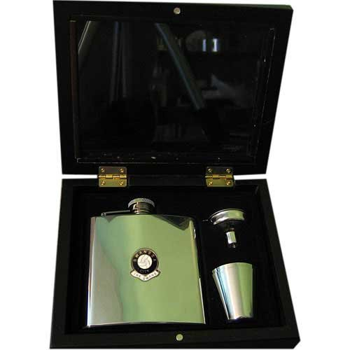 Swansea City  The Swans  Football Club 6oz Hip Flask Gift Set
