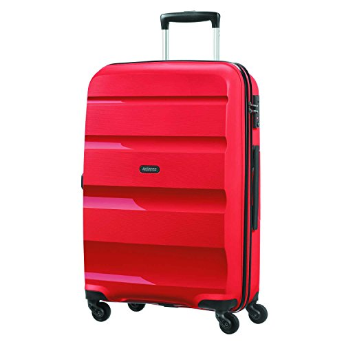 American Tourister Bon Air - Spinner M Equipaje de mano, 66 cm, 57.5 liters, Rojo (Magma Red)