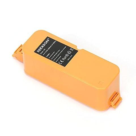 Reexbon 14.4V 3300mAh NIMH Roomba 400 Series aspirateur Remplacement Batterie pour iRobot Roomba 400 405 410 415 416 4100 4105 4110 4130 4150 4170 4220 4225
