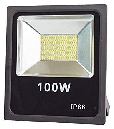 Galleria fotografica LineteckLED Faro LED 100W professionale per esterno potente SMD LED IP66 a luce bianca fredda 6000K professionale