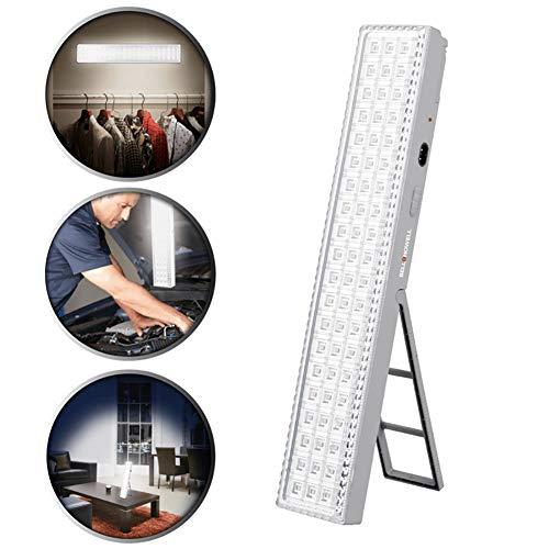 HSTV Light Bar 60 LED Mit Super Bright 720 Lumen Output - Leistung Für Den Ganzen Tag, Wiederaufladbar Mit Auto Light Sensor, XL 16,5