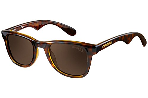 Carrera 6000 SP 791, Gafas de Sol Unisex-Adulto, Marrón (Havana/Gold Polarized), 50