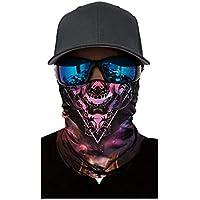 AchidistviQ Unisex Sonnenschutzmaske, Punk, Totenkopf, elastisch, Kopfbedeckung, Radfahren, Sport Ac067 preisvergleich bei billige-tabletten.eu