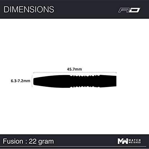 Red Dragon Fusion 1 Steel Dartpfeile - 5