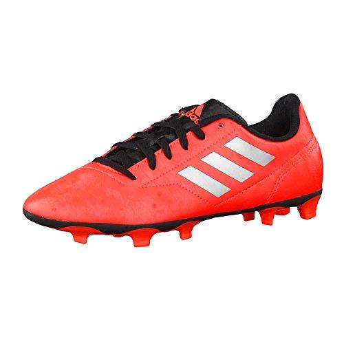 adidas Kinder Fussballschuhe Conquisto II FG Solar Red/Silver Met./Core Black 35