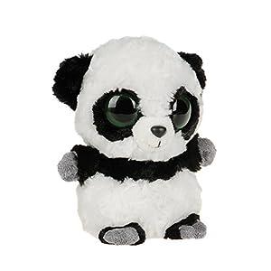 YooHoo & Friends - Peluche Panda, 13 cm, color blanco y negro (Aurora World 12238)