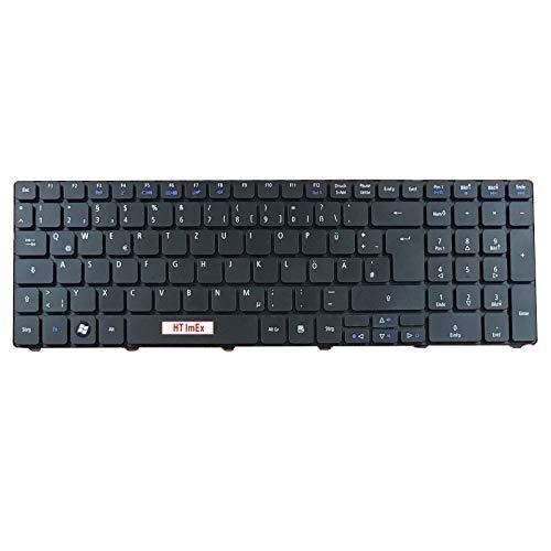 Version 3 - Deutsche (QWERTZ) Tastatur für Acer Aspire 7741Z-4839, 5745DG-7744G75Bnks, 7741Z-5731, 5745PG-5464G50Bnks, 5750Z-4217, 7741ZG-P623G32Mikk, 5750Z-4477, 7741ZG-P624G50Mikk (Acer Aspire 7741z Tastatur)