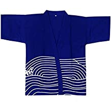 Sushi Bar Restaurant Chef Jacket Ropa Camarero Half Sleeve Uniforme Kimono Tops, # 01