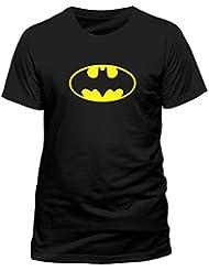 DC Batman - Logo T-shirt  Col ras du cou Manches courtes Homme