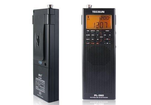ZOGIN - PL360 Estereofónica FM SW/ MW/LW DSP Receptor de Radio Portátil...