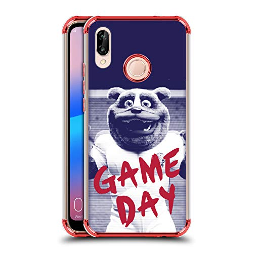Head Case Designs Offizielle England Rugby Union Ruckley Spieltag 2016/17 The Rose Rote Schocksichere Fender Huelle kompatibel mit Huawei P20 Lite - Rote Rosen England