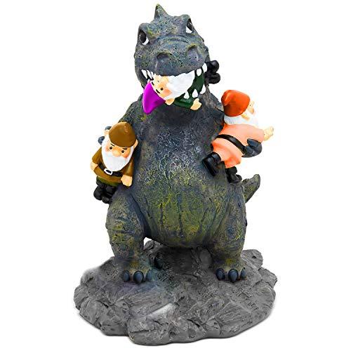Dinosaurier Büro Kostüm Im - Gartenzwerg Statue Home Outdoor Garten Rasen lustige Figur wütend Dinosaurier tolle Geschenke Angry Dinosaur