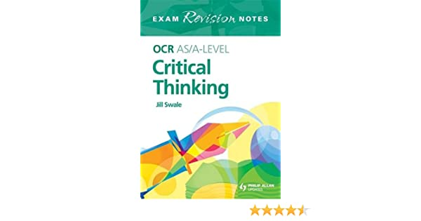 Best essay writing   Dr Nancy Griner   Ear  Nose and Throat     Hodder Education Buy OCR AS Critical Thinking Student Unit Guide  Unit F    Introduction to Critical  Thinking  Ocr As Level  Book Online at Low Prices in India   OCR AS