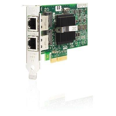 HP 412648-B21 NC360T Adattatore Gigabit Server PCI Express a 2 Porte, Verde
