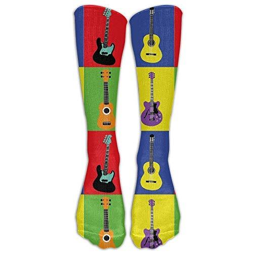 Ljkhas232 Unisex Wild Flowers Butterflies Pattern Knee High Compression Thigh High Socks Soft Socks -