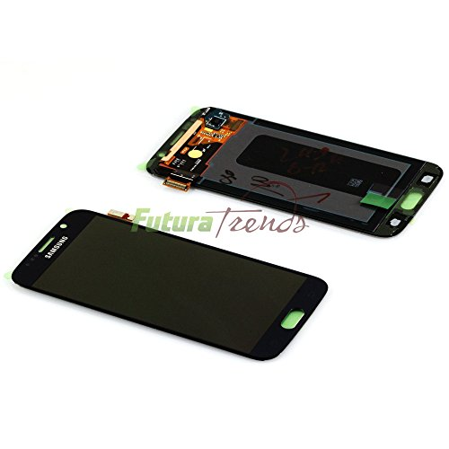 Original Samsung Galaxy S6 SM-G920F G920F LCD Display Touchscreen schwarz black GH97-17260A