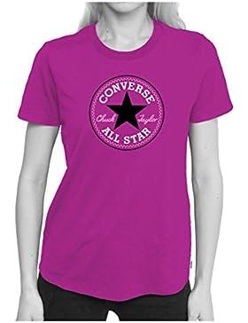 Converse Core CP Crew - Sudadera, Mujer, Gris(