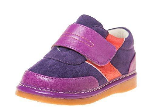 Little Blue Lamb Couine Chaussures Chaussures De Sport Plates 5229 Purple Violet
