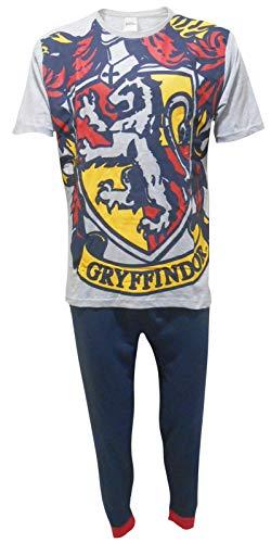 Harry Potter Hombres Gryffindor Logo Set de Pijama de Dos Piezas - Peq