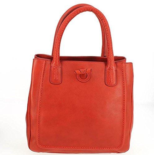 Lamarthe, Borsa a mano donna rosso rosso 26.0 (L) x 26.0 (H) x 13.0 (E) cm