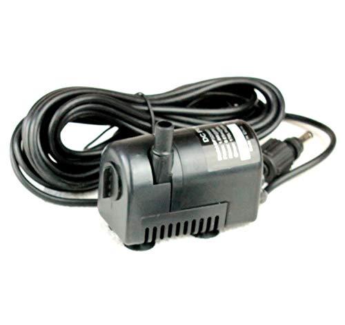 PK Green Water Fountain Tauchpumpe Low Voltage 6-9V DC BP320607 Ersatz Water Feature Ersatzpumpe, 2.1mm Male Plug -