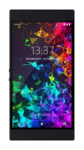 2 Display Handy (Razer Phone 2 - Flagship Mobile Gaming Phone (Android Gaming Smartphone mit 120Hz UltraMotion Display, Qualcomm Snapdragon 845, 64 GB Interner Speicher, 8 GB RAM und Razer Chroma RGB Beleuchtung))