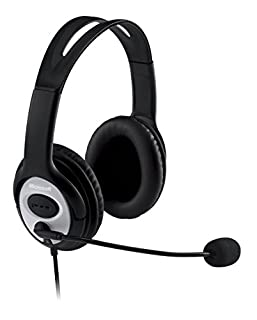 Microsoft LX-3000 Life Chat - Auriculares de diadema cerrados USB (con micrófono), negro (B000JSDOMO) | Amazon price tracker / tracking, Amazon price history charts, Amazon price watches, Amazon price drop alerts