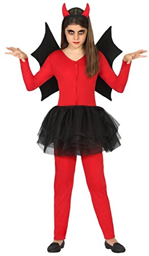 Atosa-18159 Disfraz Demonio 3-4, Color Rojo, 3 a 4 años (18166