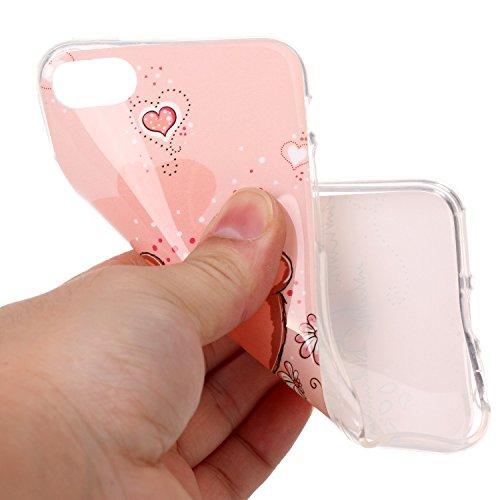 """inShang iPhone 7 Plus 5.5"""" Coque Housse de Protection Etui pour iPhon 6 5.5 inch ,Ultra mince et léger TPU matériel Le Style Pratique Coque arrière (back case) , 28"""