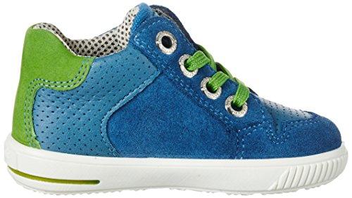 Superfit Moppy, Chaussures Marche Bébé Garçon Blau (denim Kombi)