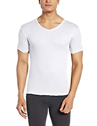 Force Go Wear Mens Cotton Vest (8902889503554_MFCF-009_Large_White)