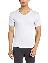 Force Go Wear Mens Cotton Vest (8902889503554_MFCF-009_Large_White)