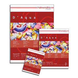 Aquarellblock D'Aqua rau 220g/m², 30x40cm, 30Blatt