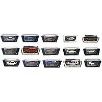 Peugeot Lot DE 15 Petites Voitures Miniatures Renault Dacia / Echelle: 3 inches (1/64)
