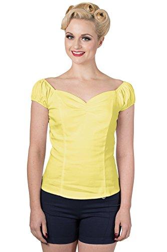 Dancing Days - Camiseta - Básico - para Mujer Zitronengelb 58