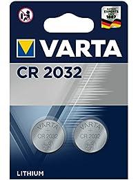 Varta - lote de 3blisters de 2pilas litio 6032cr 2032
