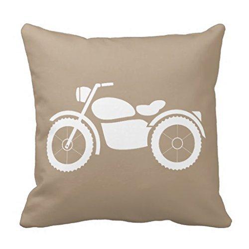 zhengpeng Motorcycle Pinup Girl Retro Pinup Art Throw Pillow Case 18