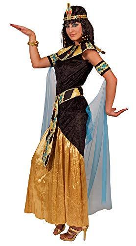 Cleopatra Kostüm Amunet - Schwarz Gold Gr. 40 42
