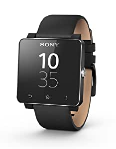 Sony Leather Wrist Strap for SmartWatch 2 - Black