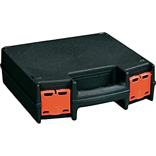 Alutec Basic 225 Briefcase Classic Black Case Equipment Box Briefcase Classic Box, Plastic, black, 70 mm, 220 mm, 225 mm)
