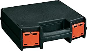 ALUTEC Basic 225 Briefcase/classic case Noir - étuis pour équipements (Briefcase/classic case, Plastique, Noir, 225 mm, 70 mm, 220 mm)