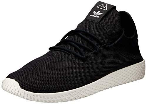 adidas Herren PW Tennis HU Fitnessschuhe, Schwarz (Negbás/Blatiz 000), 42 - Herren Tennis Adidas Schuhe